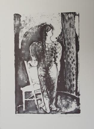 Die Puppe Originallithografie Auflage 140 Sign. und nummeriert - Joan Bennàssar